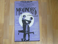 Mr  CINDERS  Musical Comedy  inc Denis Lawson  FORTUNE  Theatre Original Poster