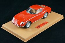 1/18 BBR FERRARI 275 GTB 1966 RED ON BROWN DELUXE BASE LE 10 PCS N MR