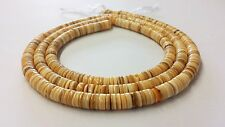 Melon Shell Heishi Beads (4 - 5mm / 24 Inches Strand)