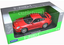 Welly 18024W Porsche 911 997 GT3 1:18 Diecast Red