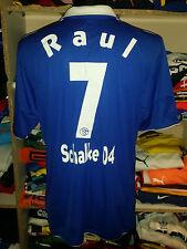 #7 Raul Schalke 04 Trikot  2011/2012 Gr. XL Camiseta Shirt Jersey (f604)