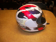 RARE TO FIND ARAI  SIGNET NR 2 MOTORCYCLE RACING HELMET  SIZE LARGE NICE SEE