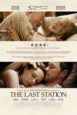 THE LAST STATION Movie POSTER 27x40 C Christopher Plummer James McAvoy Helen