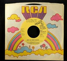 The Memphis Horns RCA DJ 10836 Get Up And Dance Both Sides