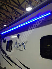 RV LED Camper Awning Boat Light Set w/IR Remote 44 key  RGB 16' 3528 Waterproof