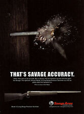 2011 SAVAGE Advertisement~Model 12 Long Range Varminter RIFLE AD ADVERTISING