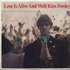 KIM FOWLEY LOVE IS ALIVE AND WELL KLIMT RECORDS LP VINYLE NEUF