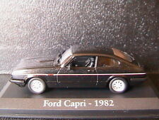 FORD CAPRI 2.8 INJECTION 1982 NOIR RBA COLLECTABLES 1/43 BLACK NOIRE