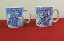 2 SPODE BLUE ROOM  ANNUAL COLLECTION CHRISTMAS MUG VICTORIAN ENGLAND NUMBER #  5