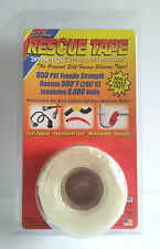 WHITE Multi Use Self Fusing Silicone Emergency Rescue / Repair Tape 25mm x 3.66m