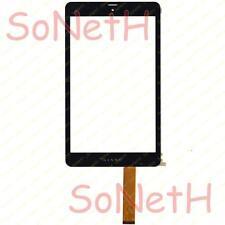 """Touch screen Kiano Intelect 8 3G 8,0"""" Vetro Digitizer Nero"""