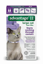 Advantage II Flea Control for Large Cats over 9 lbs Purple 2 Month