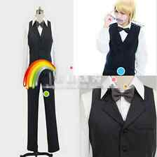 Anime DRRR DuRaRaRa!! Heiwajima Shizuo Cosplay Costume Cos Whole Set