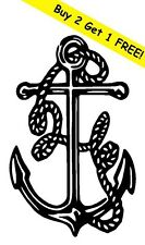 ANCHOR Vinyl Decal Sticker Car Boat Window Wall Bumper Macbook Sailing Nautical