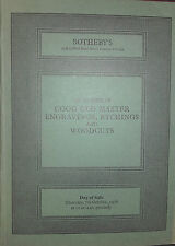 1976 Catalogue de Vente SOTHEBY'S GOOD OLD MASTER ENGRAVINGS ETCHINGS WOODCUTS