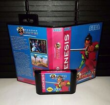 The Second Samurai - Beat-em-up Video Game for Sega Genesis! Cart & Box