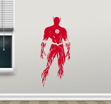 Flash Wall Decal Comics Kids Nursery Vinyl Sticker Superhero Poster Mural 172zzz