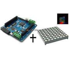 Imported LED RGB Matrix Module Driver Board 8x8 + Dot for Arduino AVR