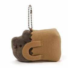 PUSHEEN SHOPPING BAG KEYCHAIN- SERIES 3 SURPRISE BOX ONLY PLACES CATS SIT GUND