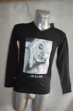 TEE  SHIRT  GANGSTER UNIT GU613 NEUF TAILLE M TOP  PHOTO KATE MOSS