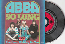 CD CARTONNE CARDSLEEVE 2T ABBA SO LONG TRES BON ETAT