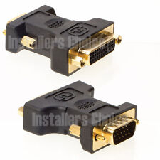 DVI A Female to HD15 VGA Male Cable Adapter DVI-A