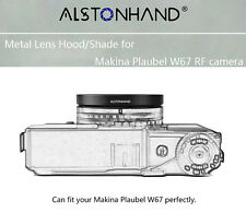 ALSTONHAND metal lens hood/shade for Makina Plaubel W67 camera 62mm