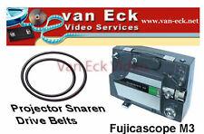 Fujicascope M3 belts - 2 belt set
