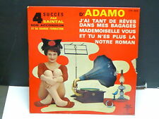 SAINTAL 4 succes d' ADAMO J ai tant de reves ...ETS 4638 ( Musette accordeon )