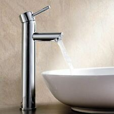 BLOSSOM BATHROOM TALL BASIN MONO MIXER TAP LEVEL STYLE CHROME SOLID BRASS