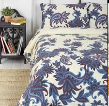 URBAN OUTFITTERS MAGICAL THINKING PURPLE PAISLEY BLOSSOM DUVET COVER TWIN XL