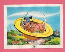 Huckleberry Hound Flying Saucer 1971 Hanna Barbera Cartoon Spanish Card #173