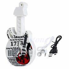 Portable Guitar USB MP3 Music Player Support 32GB Micro SD TF Card+Earphone Gift