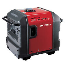 HONDA EU3000i QUIET PORTABLE GAS INVERTER PARALLEL GENERATOR 3000 WATT