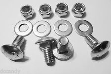 4pk Carriage Bolts Nuts for 784-5582A Shave Plate Scraper Bar (5/16-18) 5/8""