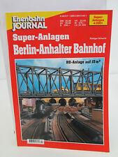 Eisenbahn Journal Super-Anlagen 4/2001 Berlin-Anhalter Bahnhof WT8094