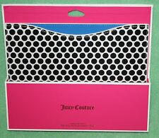 Juicy Couture iPad Sleeve NEW Black white dot Retail 48 Polka Dot 3rd Gen
