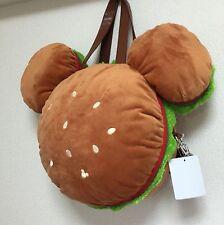 Tokyo Disney Resort Mickey burger tote / backpack / shoulder bag JAPAN TDR