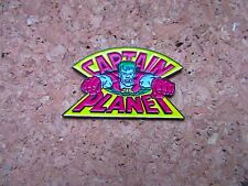 PINS CAPTAIN PLANET NINTENDO NES / SEGA MEGADRIVE/COMMODORE AMIGA TBEG / VGC