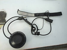 EX MOD Sonic Communications Earpiece/Throat Microphone with PTT