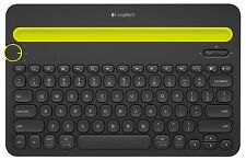 Logitech Bluetooth Multi-Device Keyboard K480 for Computers, Tablets and Smar...