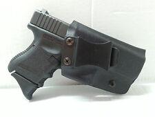 Glock 19 23 32 Custum Black Kydex Gun Holster IWB Right Hand Adjustable LH OWB