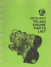 1970-1971 RUPP TR-440 ENGINE PARTS MANUAL (635)