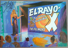 El Rayo X Fillmore signed Poster David Lindley Tea Leaf Green Original F583