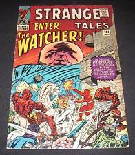 STRANGE TALES #134 Fn 12¢ cover Marvel Comic | Enter the WATCHER!