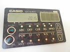 CASIO SOLAR DATABANK CARD CALCULATOR DC-E700BK SLIM DESIGN DC-E700 JAPAN NIB