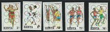 Kenya SC578-582 Olympic Summer Games, Barcelona MNH 1992