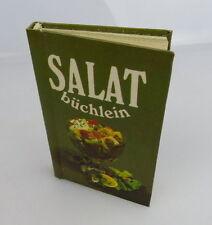 Minibuch: Salatbüchlein Vor- und Nachspeisen Verlag für die Frau bu0236