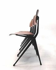 Result Chair Stühle, industriele Design 50er Jahre