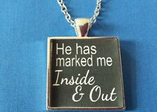 BDSM JEWELRY Necklace Collar * Marked Inside and Out * Owned Kinky Lifestyle